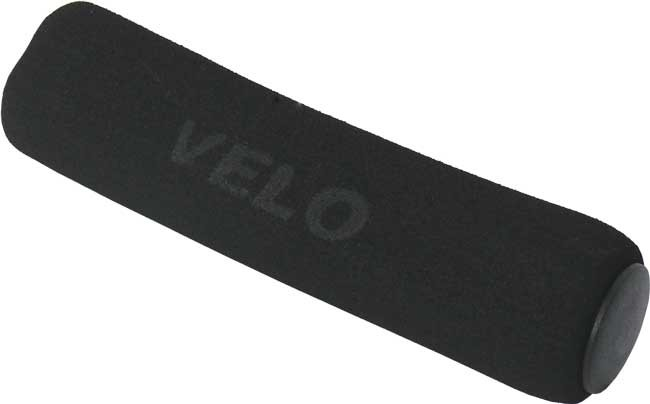 gripy Velo-136 mechové tvrdé černé