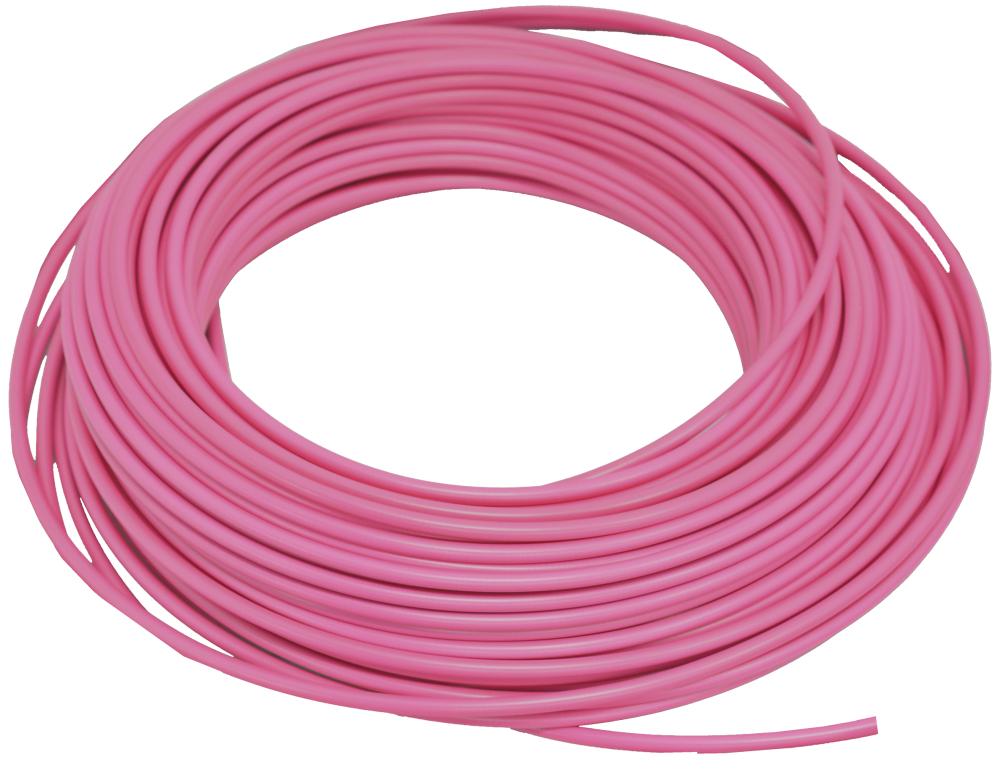 bowden brzdový 1m růžový