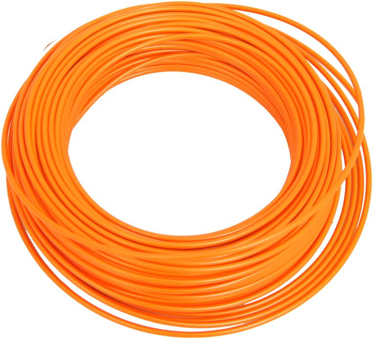 bowden brzdový 1m oranžový