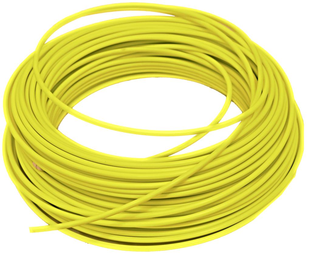 bowden brzdový 1m žlutý