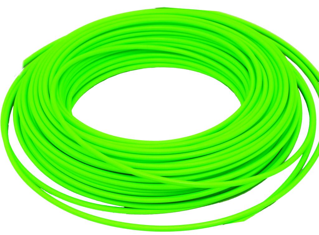 bowden brzdový 1m reflexní zelený