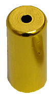 koncovka bowdenu 4mm Al - zlatá 1ks