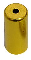 koncovka bowdenu 5mm Al - zlatá 1ks
