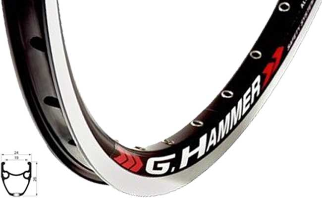 ráfek GrHammer 559 BE+GBS+n 36d