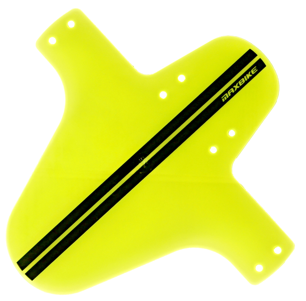 Blatník přední do vidlice plast žlutý neon